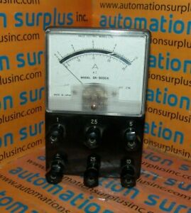 Kaise Electric Works Sk 5000a 1 25a Ac Amp Meter quantity