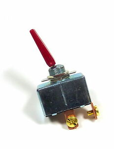 High Current 50 Amp 12v Dc Red Toggle Switch Spst On off Auto Marine