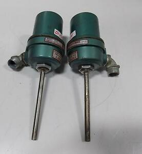 Burling Instruments Temperature Control Switch Model B 1c Lot Of 2