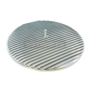 14 Polish Aluminum Nostalgic Air Cleaner Lid Top Only Chevy Ford Mopar Hot Rod