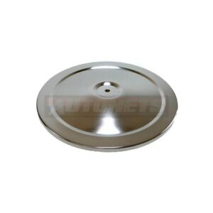 10 Round Chromed Steel Muscle Car Air Cleaner Lid Top Only Sbc Bbc 350 454 Rod