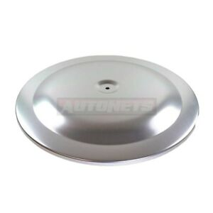 14 Round Anodized Aluminum Air Cleaner Top Lid Only Muscle Car Chevy Ford Mopar