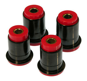 Prothane 79 93 Ford Mustang Front Control Arm Bushing Kit Red With Shells