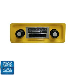 1967 73 Mustang Slidebar Radio Am Fm Ipod Control Blue Tooth Available