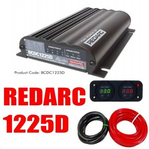 Redarc Bcdc1225d Dual Battery Isolator System Dc To Dc Mppt Solar Agm