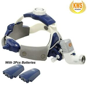 5w Dental Surgical Medical Led Head Light Kd 202a 7new Headband Type