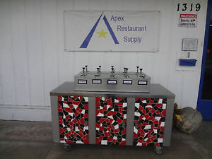 Cafeteria Style Condiment Station 1837