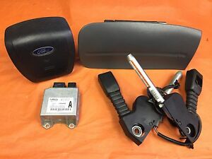 07 08 09 10 11 Ford Ranger Air Bag Set Driver Passenger Srs Seat Buckles Oem