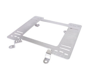 Nrg Stainless Seat Base Brackets Adapter For 79 98 Ford Mustang pair