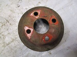 Case 300 311 411 430 Tractor Water Pump Pulley