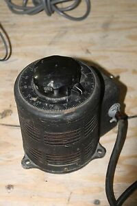 Vintage Superior Powerstat 116 Variac Variable Autotransformer
