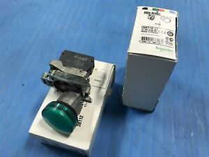Lot Of 2 New Telemecanique Schneider Electric Xb4 Bv63 Pilot Light Head r7