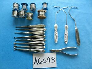 Kmedic Miltex Richards Weck Surgical Orthopedic Instruments And Wire