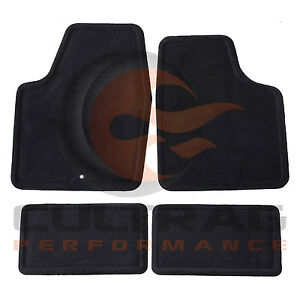 2006 2013 Chevrolet Impala Gm Front Rear Carpet Floor Mats Ebony 25795457