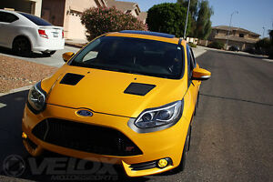 Ford Focus Rs St Hood Louver Kit Improve Airflow Velox Motorsports