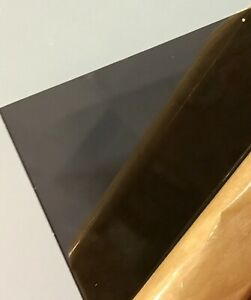 Dark Gray Smoke Transparent Acrylic Plexiglass Sheet 1 8 X 12 X 12 2074