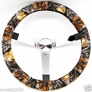 Hand Made Steering Wheel Covers Realtree Camo