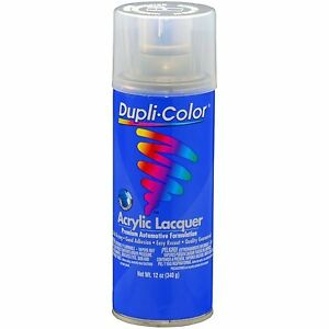 Duplicolor Dal1695 Clear Acylic Lacquer Spray Paint Aerosol 12oz