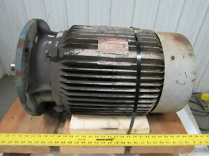 Mitsubishi Sf jf 20hp 15kw 875rpm 480v 3ph Super Line J Electric Motor