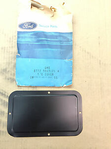 D77z 9943121 A Ford Pickup Tailgate Access Cover Vintage