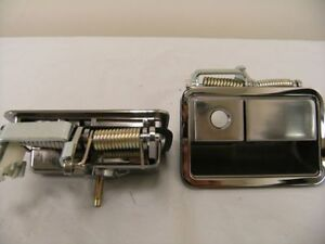 Chrome 1970 1971 1972 1973 1974 Dodge Challenger Outside Door Handles Pair Mopar