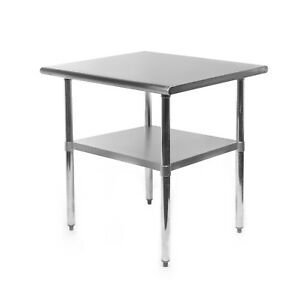 Commercial Stainless Steel Kitchen Food Prep Work Table 24 X 30