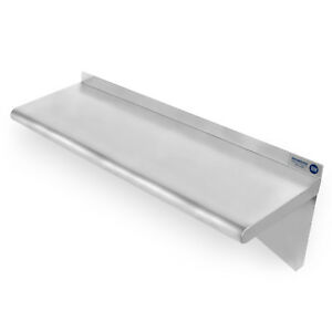 Commercial Stainless Steel Restaurant Kitchen Shelf Wall Shelving 14 X 36