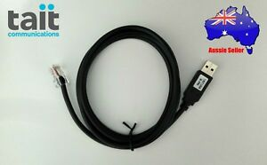Tait 8 pin Usb Programming Cable