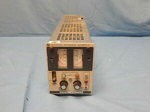Kepco Ate 75 1 5 0 75v 0 1 5a Adjustable Dc Power Supply Load Tested