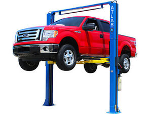 Atlas Pv 9p 9 000 Lb 2 Post Auto Car Truck Lift Hoist Two Post