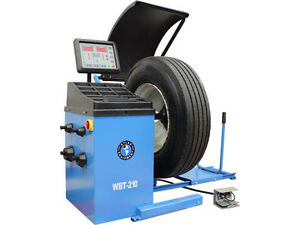 Atlas Wbt 210 Heavy Duty Truck Tire Balancer