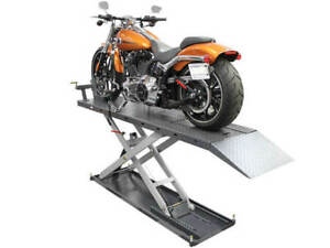 Atlas Eml 1200 Electric Motorcycle Lift 1200 Lbs Capacity Cycle Lift