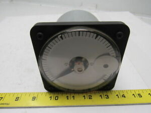 Eil Instruments Yew Type Db 40 Blank Face Dc Panel Ammeter 0 1ma Dc