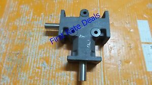 Mitrpak Hat 10 Gear Drive Right Angle 5 8in Shaft 2 To 1 Ratio Hat 10 2 1 New