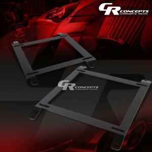 Left right Tensile Racing Bucket Seat Low Mount Bracket For 89 97 Miata Mx 5 Na