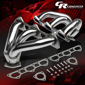 For 996 997 01 08 Porsche 911 Twin Turbo Stainless Exhaust 6 2 Manifold Header