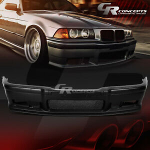 1pc Abs M3 Style Replacement Front Bumper Cover Grille For 92 98 Bmw E36 3series