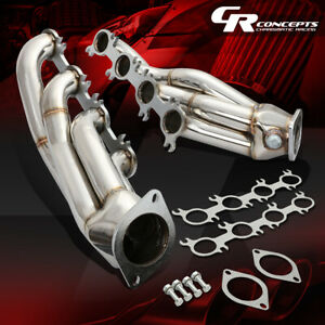 For 11 14 Mustang Gt Boss 302 V8 Stainless Steel Exhaust 4 1 Manifold Header