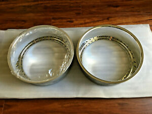 2 18x6 Work Aftermarket Replacement Lips Polish 40 Hole Vsxx Vskf Equip