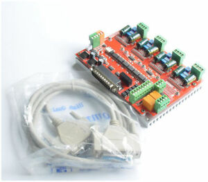 Lv8727 V4 Nv8727t Cnc Engraving 4 Axis 4a Stepper Motor Driver Controller Board