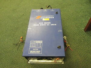 Saftronics Dc6 Series Solid State Dc Drive Kdc6 126 4 75hp Used