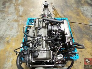 95 96 Toyota Tacoma 4runner T100 2 7l Engine And Rwd Auto Trans Jdm 3rz fe