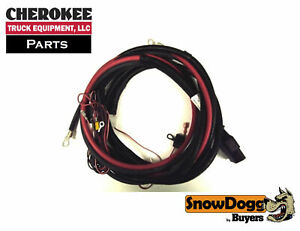 Snowdogg buyers Products 16160300 Truck Side Control Harness