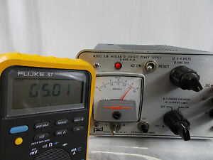 Power Designs Model 630 Integrated Circuit Power Supply 0 6v 0 3a tested