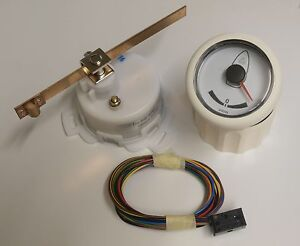 Vdo Viewline Rudder Indicator 52mm White Incl Reference Transducer