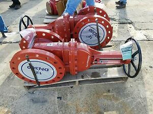 United 12 Flange Gate Valve C515