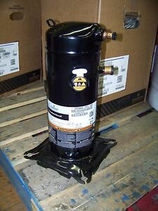 Emerson Copeland Scroll Compressor 208 230v 1ph 60hz R410a 3ton