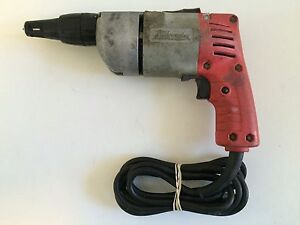 Milwaukee Dry Wall Drill 6798 1 Screw Shooter Fast Free Shipping
