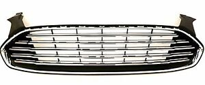 Chrome Upper Grille Assembly Replacement For 2013 2016 Ford Fusion 3 9