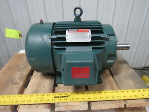 Reliance Electric 7 5hp Electric Motor 3ph 230 460v 1765 Rpm L213t Frame